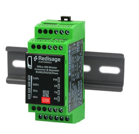 C08 M-Bus converter/repeater