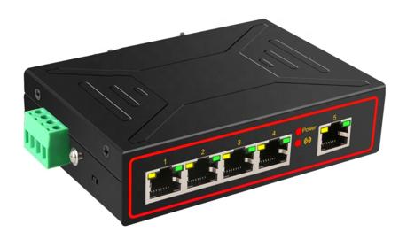 S02 Switch 5 portów RJ45 10/100M